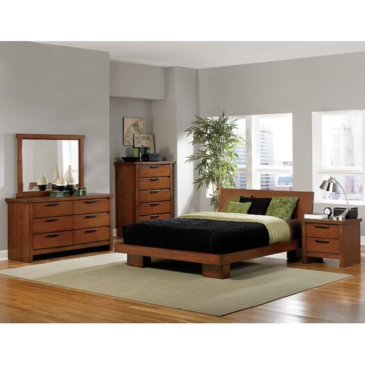 Woodbridge Home Designs Kobe Platform Bed