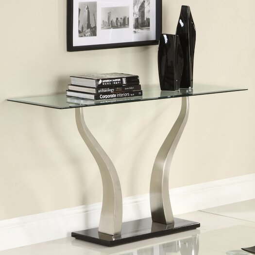 Woodbridge home designs atkins console table allmodern - Woodbridge home designs avalon coffee table ...