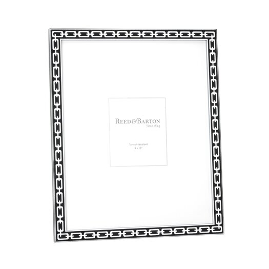 Reed & Barton Silver Link Picture Frame