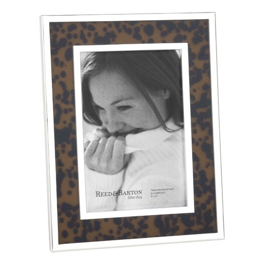 Reed & Barton Tortoise Picture Frame