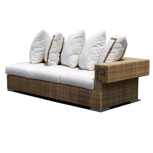 Dann Foley Hollywood Sectional Sofa with Cushions