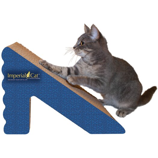 Imperial Cat Scratch 'n Shapes Rub & Ramp Recycled Paper Scratching Post