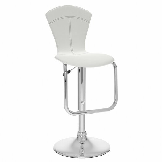 CorLiving Adjustable Height Swivel Bar Stool with Cushion