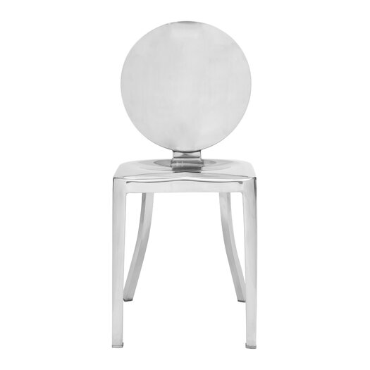 Autumn Stainless Steel Side Chair