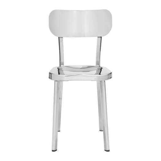 Winter Bar Stainless Steel Side Chair