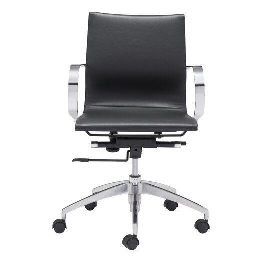 Glider Low-Back Office Chair