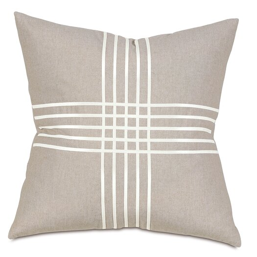 Thom Filicia Home Collection Reflection Criss-Cross Throw Pillow