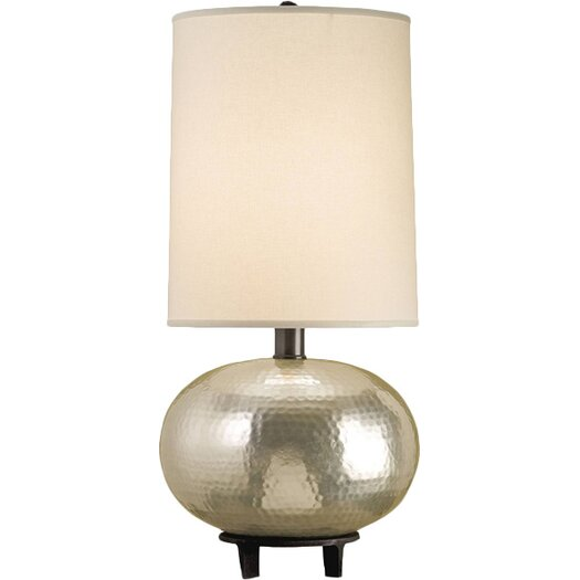 "Currey & Company Luna 28"" H Table Lamp with Drum Shade"