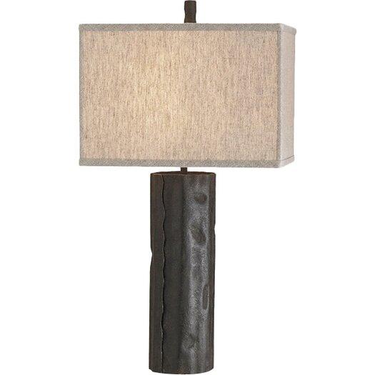 "Currey & Company Caravan 28"" H Table Lamp with Rectangular Shade"