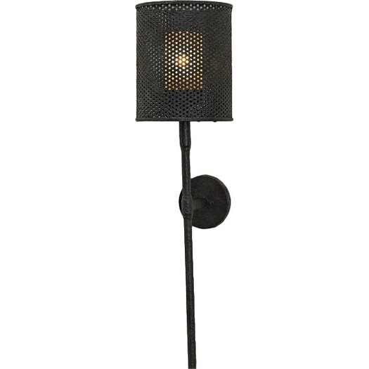 Currey & Company Whitton 1 Light Wall Sconce
