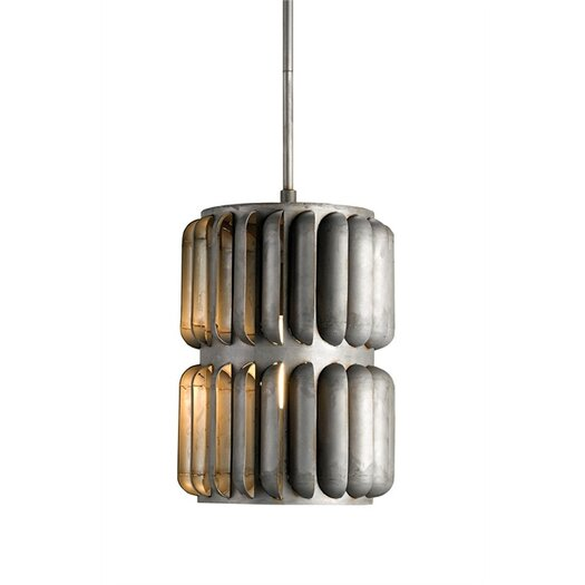 Currey & Company Turbina 1 Light Mini Pendant