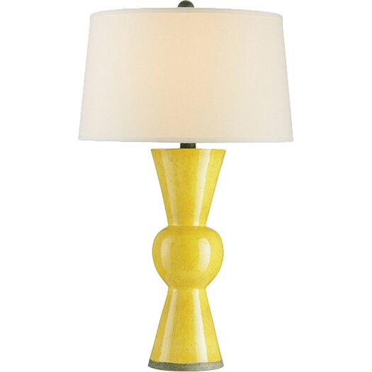 """Currey & Company Upbeat 31"""" H Table Lamp with Empire Shade"""