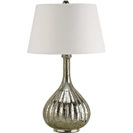 """Currey & Company Libertine 28"""" H Table Lamp with Empire Shade"""