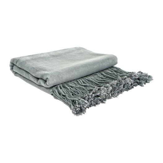 Pur Modern Neutra Bamboo Velvet Throw Blanket