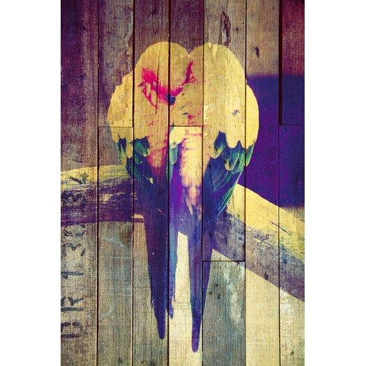 "Salty & Sweet ""Lovebirds Pastel"" Canvas Art"
