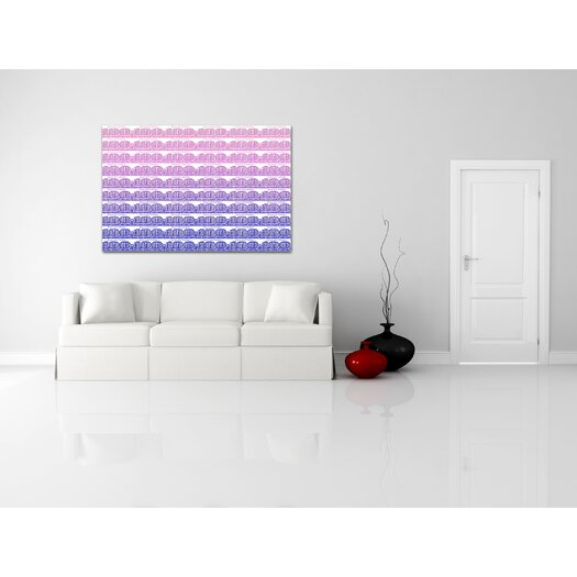 Salty & Sweet '100 Large White' Textual Art on Canvas