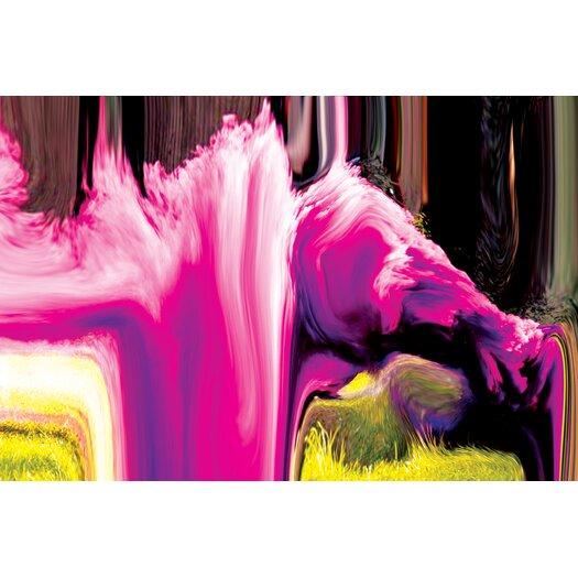 Salty & Sweet Smoke Waterfall Painting Print on Canvas