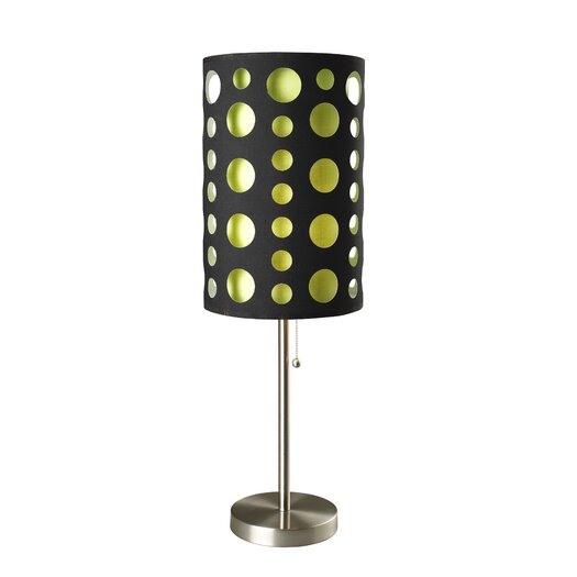"""ORE Furniture Retro 33"""" H Table Lamp with Drum Shade"""