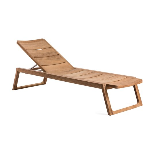 OASIQ Diuna Chaise Lounger with Cushion