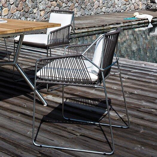 OASIQ Sandur Dining Arm Chair with Cushion