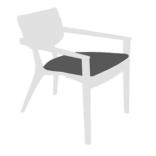 Diuna Outdoor Lounge Arm Chair Seat Cushion