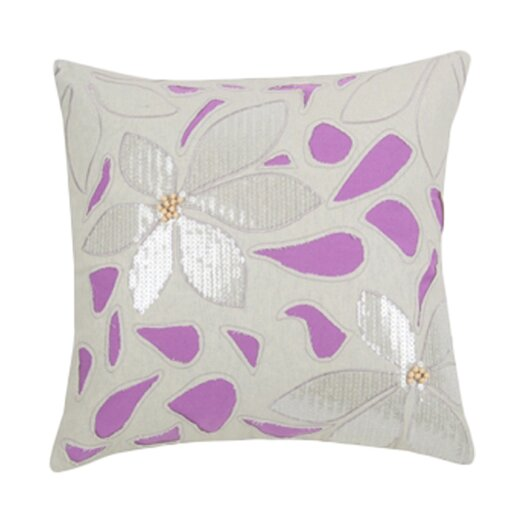 Blissliving Home Easter Island Mala Orchid Pillow