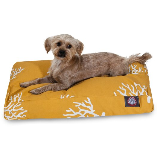 Majestic Pet Products Coral Rectangular Pet Bed