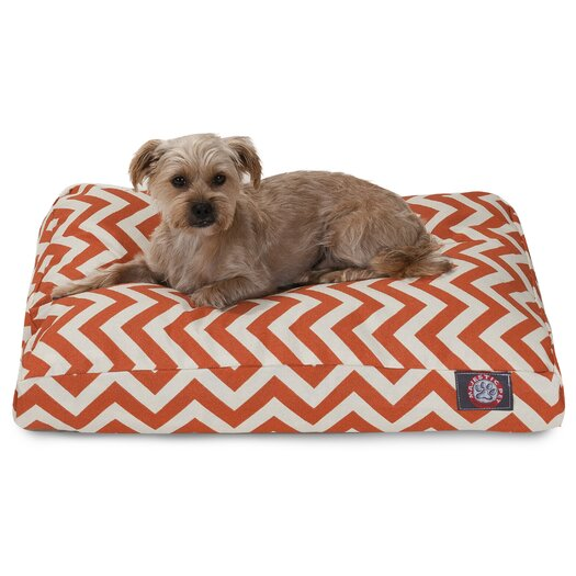 Majestic Pet Products Zig Zag Pillow Pet Bed