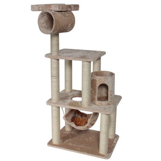 "Majestic Pet Products 62"" H Casita Fur Cat Tree"