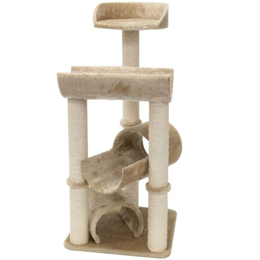 "Majestic Pet Products 44"" Casita Fur Cat Perch"