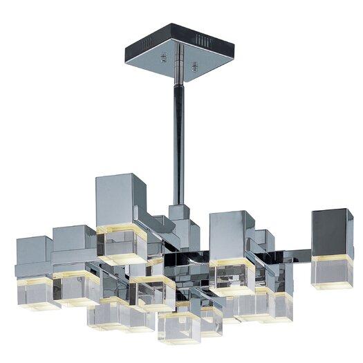 ET2 Nova 13 Light Geometric Pendant