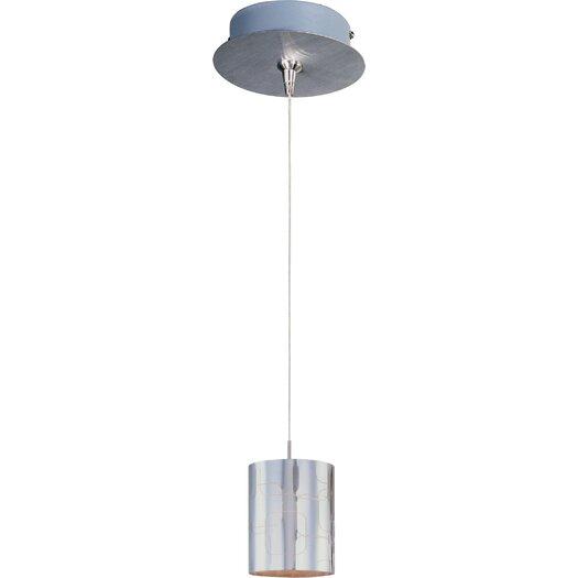 ET2 Silver Plate 1-Light RapidJack Pendant and Canopy