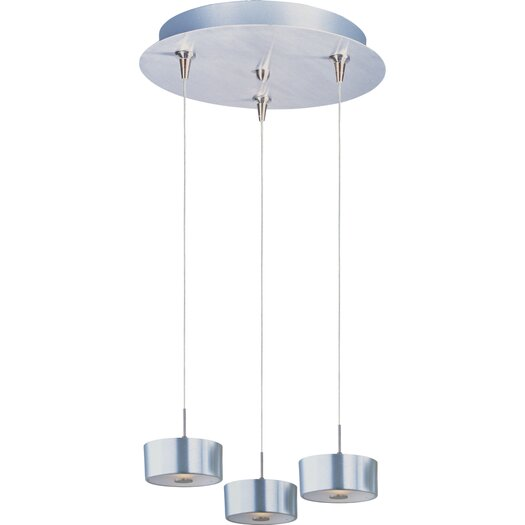 ET2 Percussion 3-Light RapidJack Pendant and Canopy
