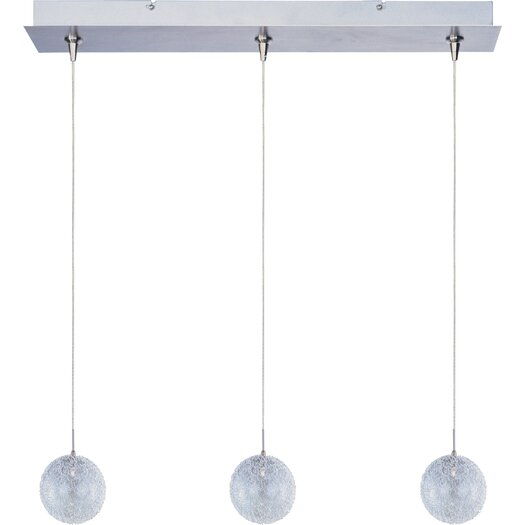 ET2 Mesh 3-Light RapidJack Pendant and Canopy