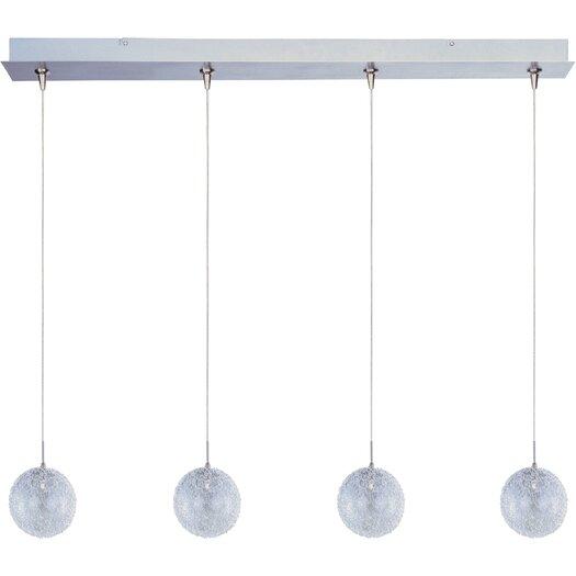 ET2 Mesh 4-Light RapidJack Pendant and Canopy