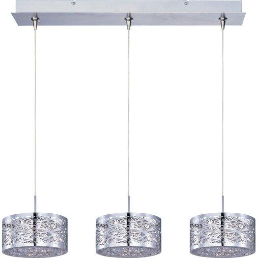 ET2 Inca 3-Light RapidJack Pendant and Canopy