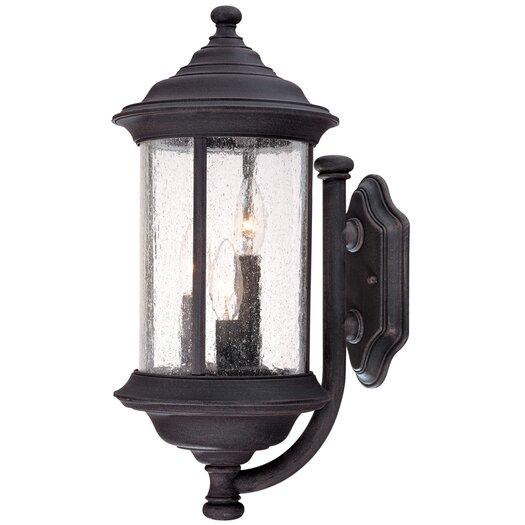 Dolan Designs Walnut Grove 3 Light Wall Lantern