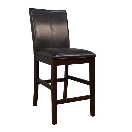 "A-America Parsons 24"" Bar Stool with Cushion"