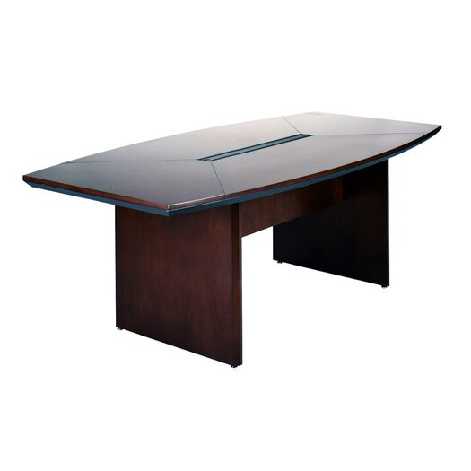 Mayline Group Corsica Boat Shaped Conference Table
