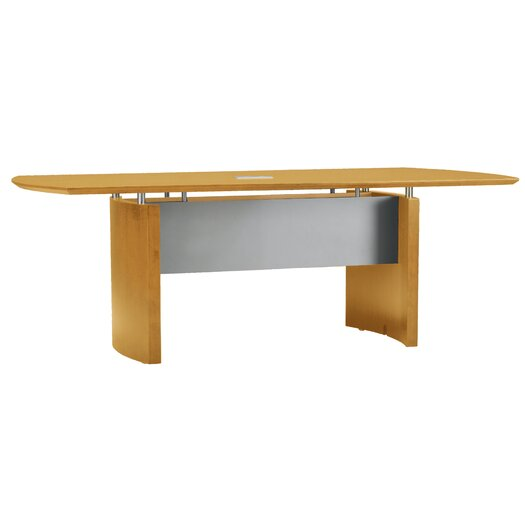 Mayline Group Napoli Boat Shaped Conference Table