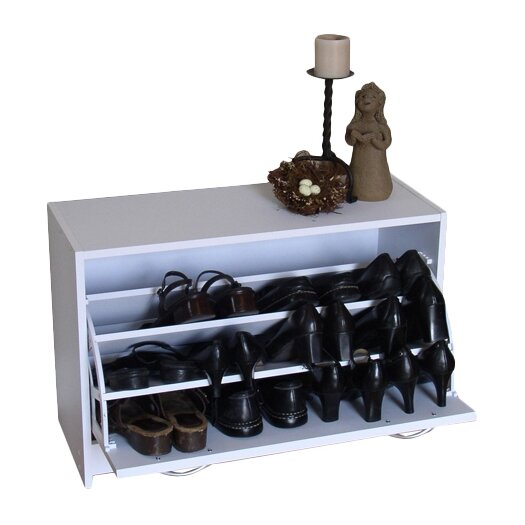 4D Concepts Storage and Organization Deluxe Single Shoe Cabinet
