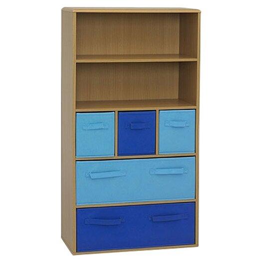 """4D Concepts Boy's Storage 47.3"""" Bookcase"""