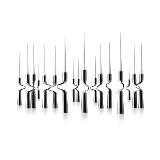 Menu Mikaela Dorfel Stainless Steel Double Candlestick