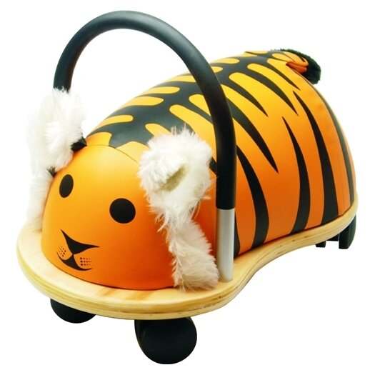 Prince Lionheart Wheely Bug Tiger Push/Scoot Ride-On