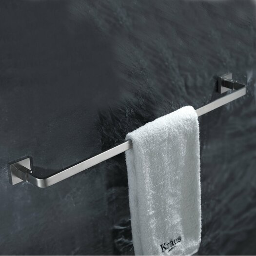 "Kraus Aura 23.6"" Wall Mounted Towel Bar"