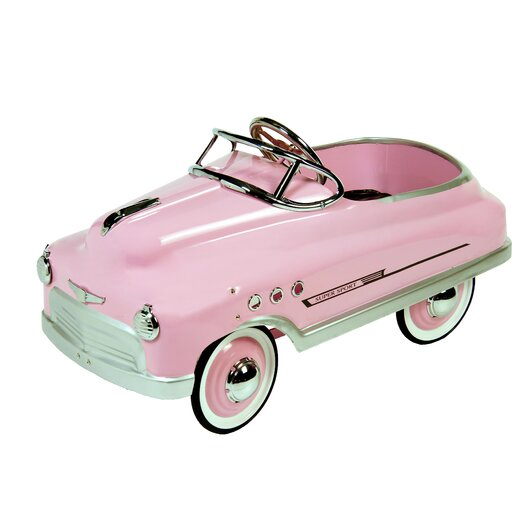 Dexton Kids Comet Sedan Car in Pink