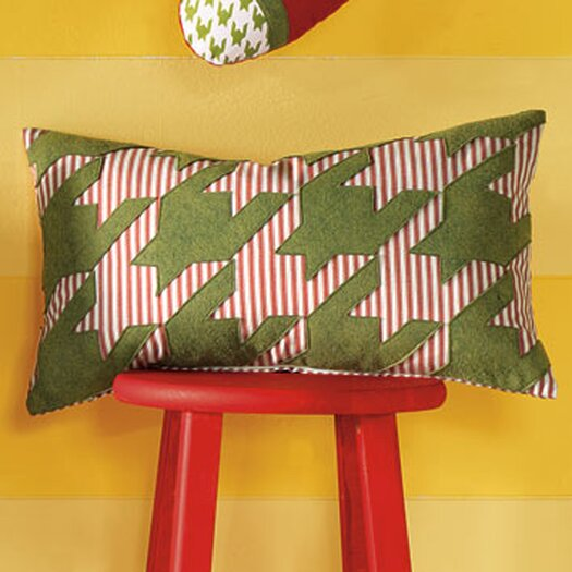 Eastern Accents North Pole Reindeer Games Lumbar Pillow