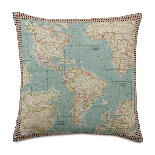 Eastern Accents Kai Monde Border Euro Pillow
