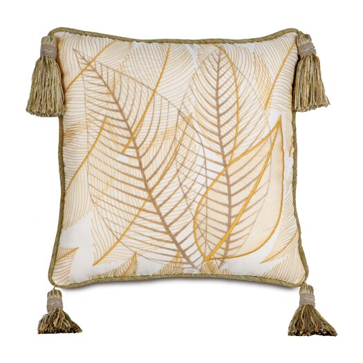 Eastern Accents Antigua Hand-Painted Collier Sunshine Throw Pillow