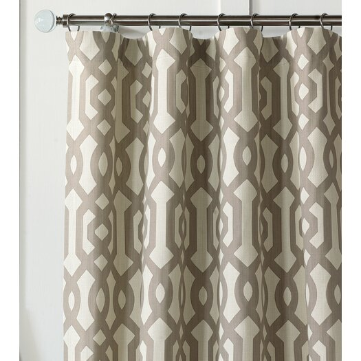 Eastern Accents Rayland Cotton Rod Pocket Single Curtain Panel